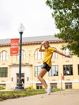 "Grace College began marketing ""Instagram-worthy photo shoots"" to prospective students, as a new addition to its campus tours."