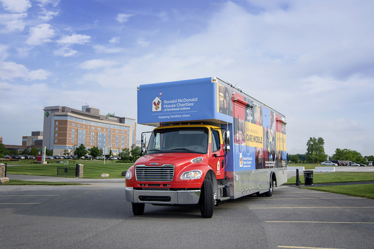 Parkview Health is taking the Ronald McDonald House Care Mobile to northeast Indiana residents.