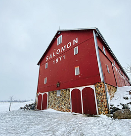 Salomon Farm Park is open for winter hikes.