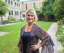 Sara Schaefer is the first Community Development Manager at Trinity English Lutheran Church.