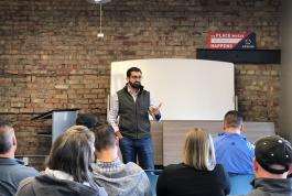 Paul Singh, co-founder at Results Junkies, was the keynote speaker at Startup Week 2018.