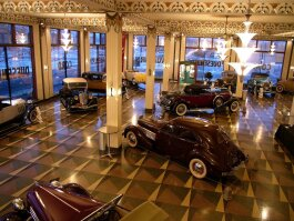 The ACD Museum offers more than 120 cars on exhibit on three levels and nine automotive themed galleries.