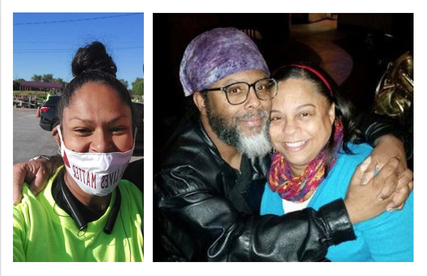 "Anjelica ""Angie"" Soto, left, is one organizer behind a fundraiser for her friends, Tyrone and Melonie Cato, right."