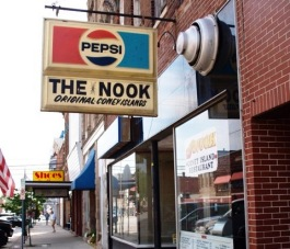 The Nook is a popular eatery in Columbia City.