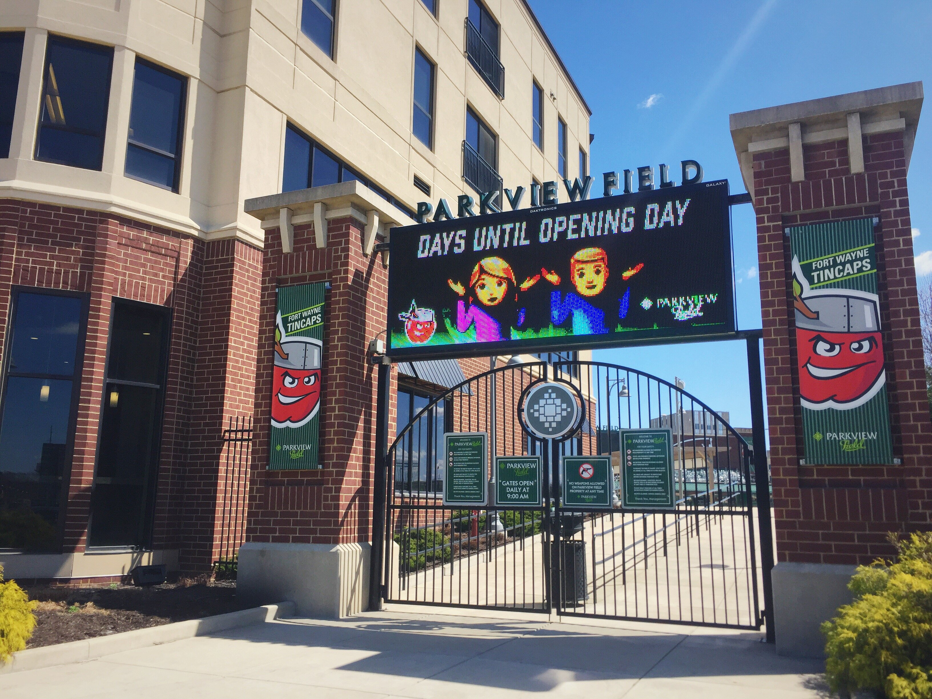 Opening Day for the TinCaps's 2020 season is still to be determined.