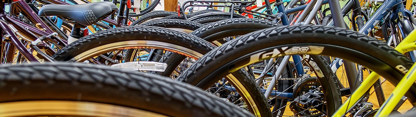 Trailhouse Village Bicycles in Winona Lake offers bicycles, accessories, riding apparel, components, and bike care.