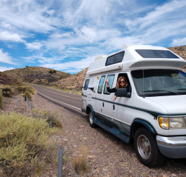 Justin and Cassondra Lim of Fort Wayne are traveling the U.S. by van.