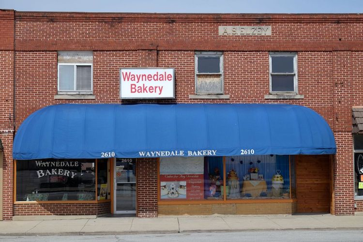 Waynedale Bakery is a community staple at 2610 Lower Huntington Road.