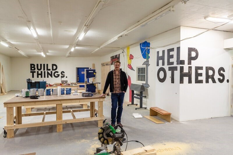 In 2019, Jon Rehwaldt launched The Workbench on the city's Southeast side.