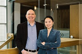 After moving to the U.S. with her husband, Yan Wall, right, launched a business in Fort Wayne.