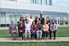 The outgoing YLNI board of directors is composed of professionals from a variety of backgrounds.
