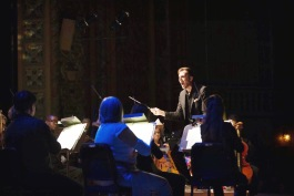 Caleb Young is the Staff Conductor of the Fort Wayne Philharmonic.